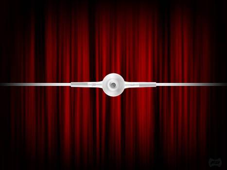 iPod Headphone - in Theatre