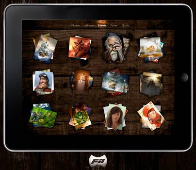 Skinned iPad Photos