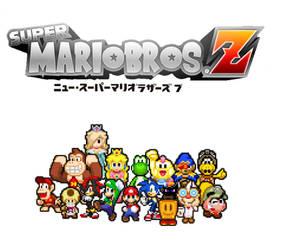 Super Mario Bros. Z (2019) Character's by ALLSTARGamersXD-2x