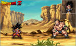 Goku Vs. Nappa (Ulsw Ver.)