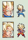 Recolor SSJ Goku and Vegeta Preview