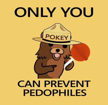 Pedo Bear says by ChaosMole