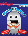 Boo Flakes Cereal Design