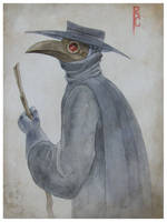 Plague Doctor by bloods-a-rover