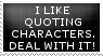 [STAMP] Character Quoting by Twerka-Trever