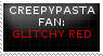 [STAMP] Glitchy Red by Twerka-Trever