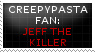 [STAMP] Jeff The Killer by Varsha-Trever