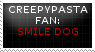 [STAMP] Smile Dog by Twerka-Trever