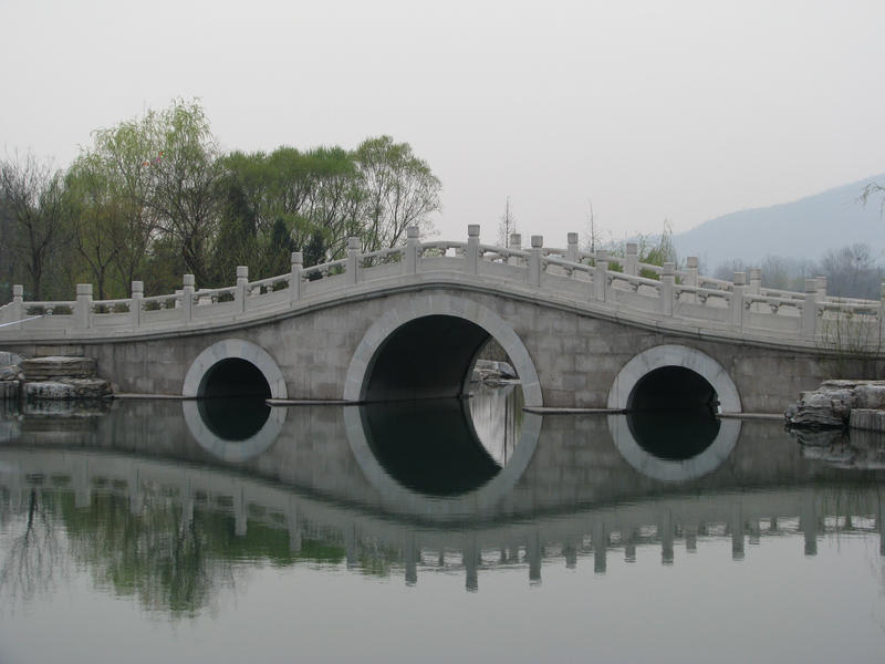 Oriental Bridge 01 by Ghost-Stock
