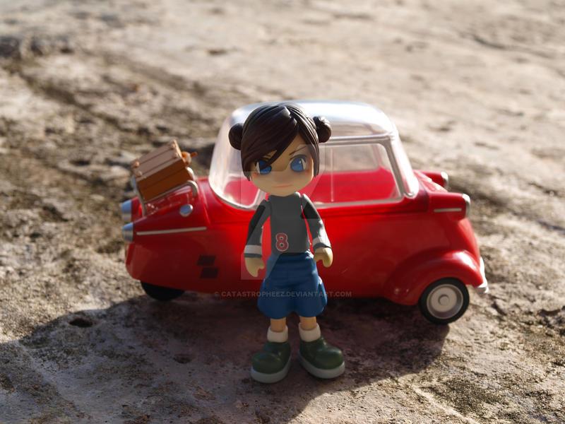 My Pinky:st with Messerschmitt by CatastroPheez