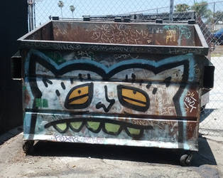 Sad Dumpster