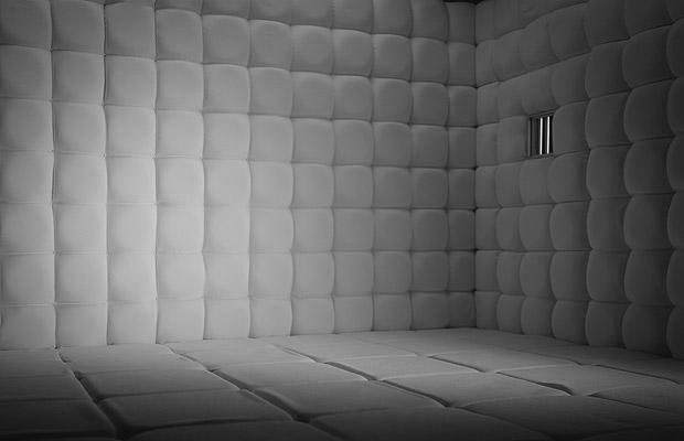 Padded cell wallpaper the image kid has it for Padded wall wallpaper