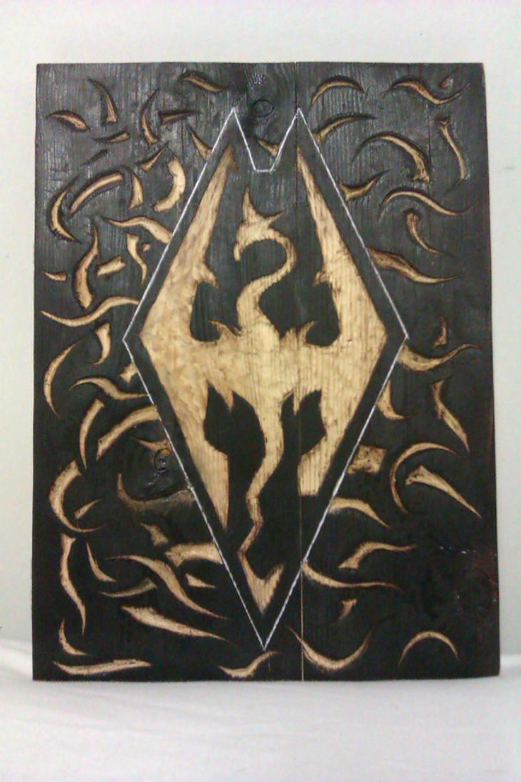 Skyrim Wood Burning by kicker599 on DeviantArt
