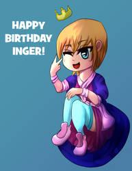 Happy Birthday Inger! by Emma-Robo300