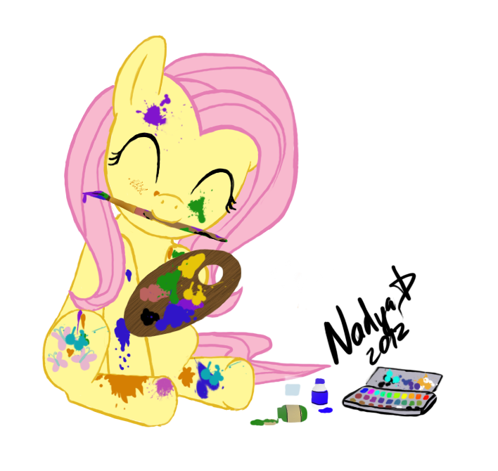 Fluttershy by NadyaD
