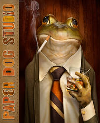 Frog Boss by PaperDogStudio
