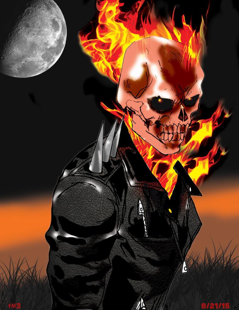 ghost rider by tmaldo33