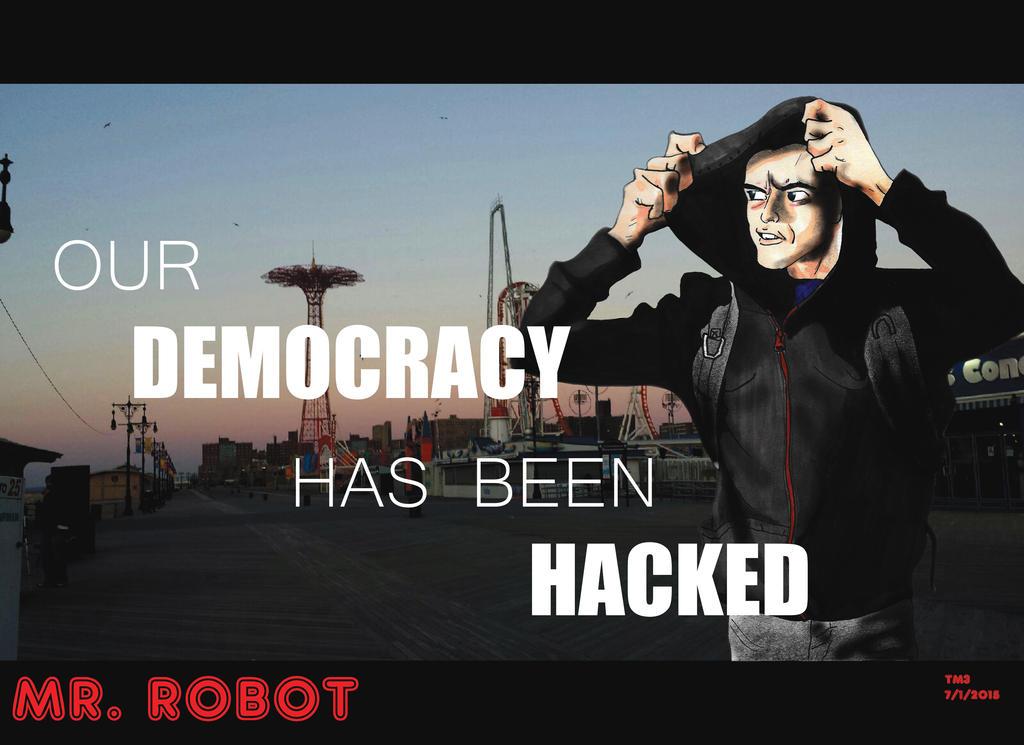 MR. ROBOT by tmaldo33