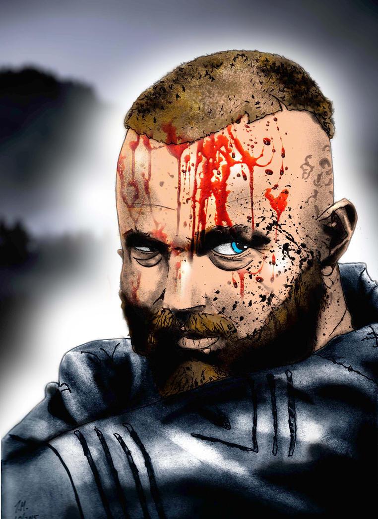 Ragnar Lodbrok- Vikings by tmaldo33