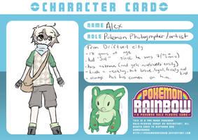 Alex :: Pokemon Rainbow by xHalfaLife101x