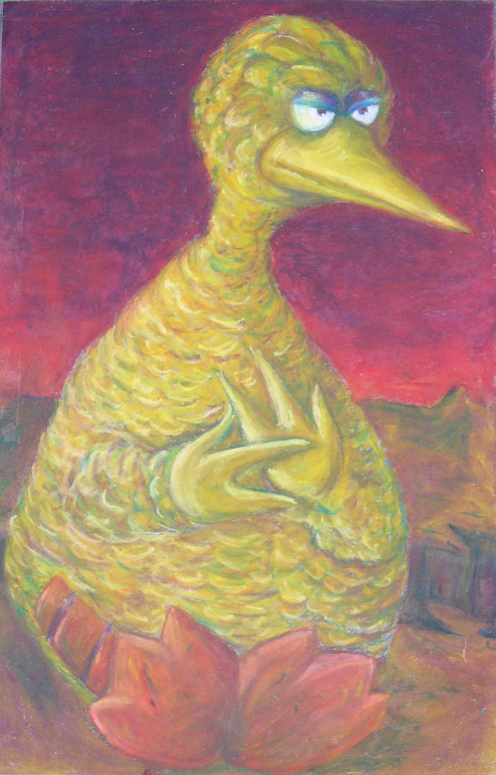 Evil Big Bird Evil Big Bird  by vidiot17
