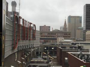 Cloudy Downtown Denver