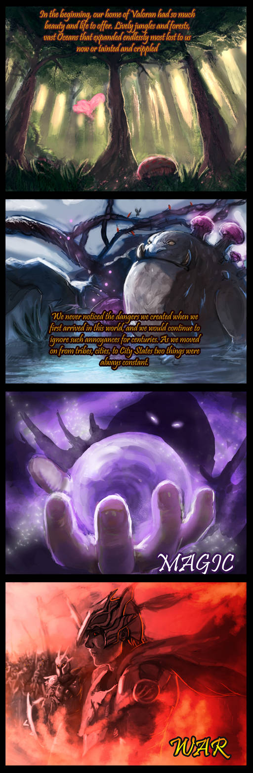 Lore of Legends Prologue Pg 1