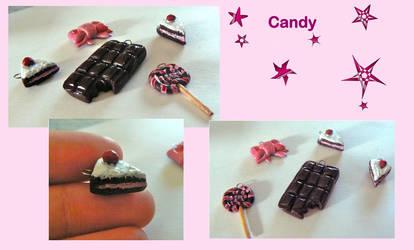 candy -fimo by KimmyDoezle