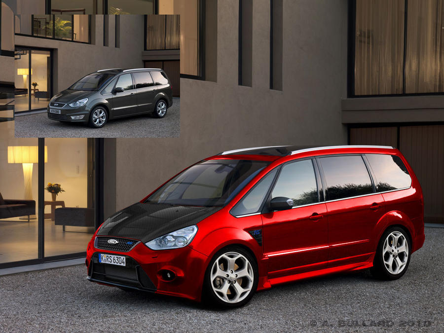 Ford Galaxy RS MPV Concept by ArkaneApocolypse