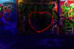 Neon hearts by Bluetits