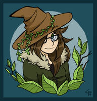 The pinecone witch