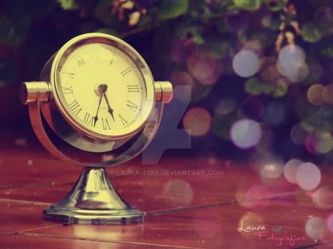 El tiempo en mi reloj