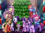 Redraw: Happy Hearts Warming From the Mane 8