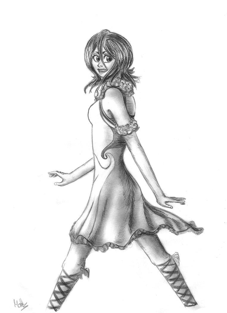 Rukia: Air Element by Matts-91