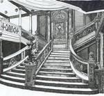 Titanic Main Stair Case by Mitternacht