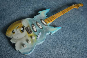 Derpy Guitar for Brony Expo