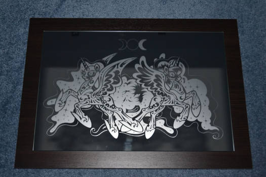 Mirror Nightmare Moon and Luna