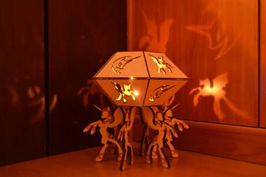 Nightmare Moon Candlestick