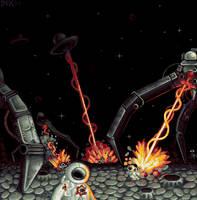 Moonlit Massacre by afergusonart