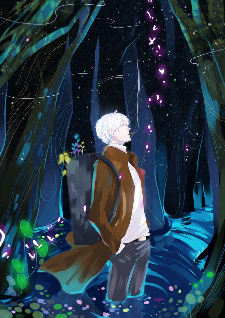 Mushishi : Ginko by MissIfa