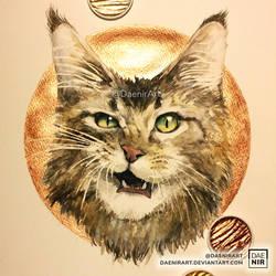 Happy Cat Day! by DaenirArt