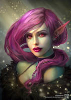 Elf by DaenirArt
