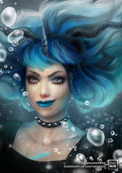 COMMISH: Lacrima by DaenirArt