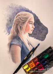 Daenerys by DaenirArt
