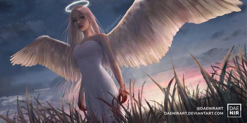 Angel by DaenirArt