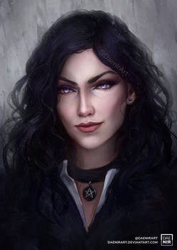 Yennefer - color version