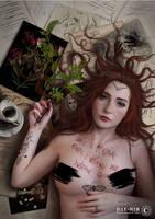 Elusive muse with broken win - art contest