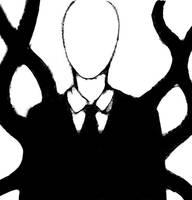 Slender Man by paronomasial