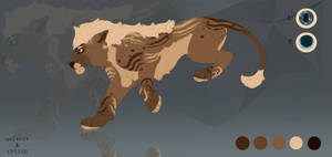 Lion Auction Adoptable [ OPEN ]