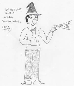 inktober witches 2